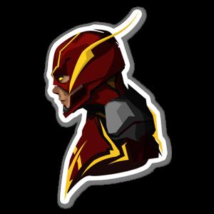 IN2 Flash sticker