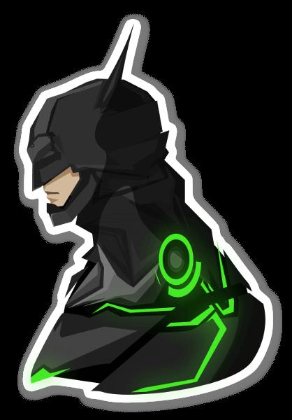 IN2 Batman pegatina