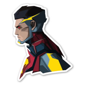 IN2 Superman  sticker