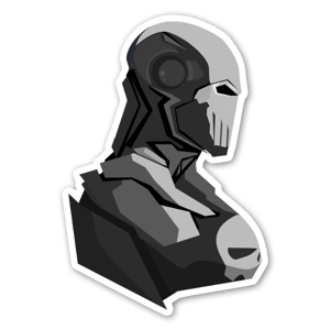Iron Punisher  sticker