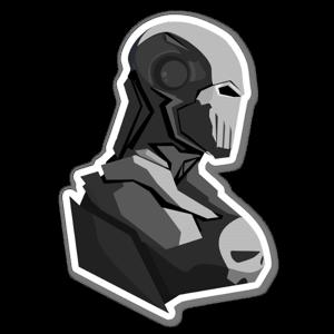 Iron Punisher  sticker