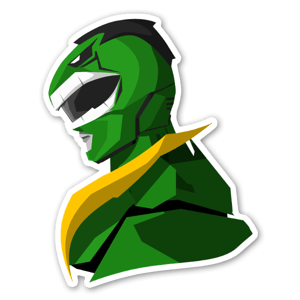 Hulk Ranger  sticker