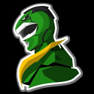 Hulk Ranger  sticker