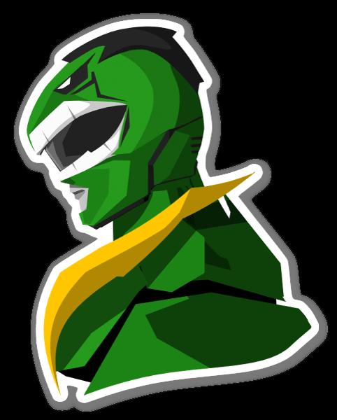 Hulk Ranger pegatina