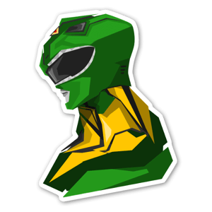 Green Ranger  sticker