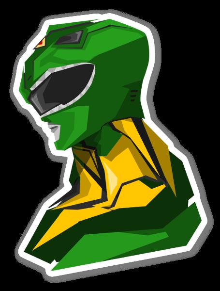 Ranger Verde pegatina
