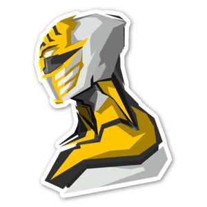 White Ranger  sticker