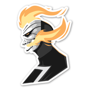 Ghost Rider  sticker