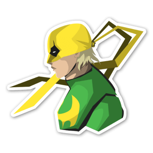 IronFist  sticker