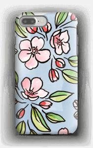 Blomster deksel IPhone 7 Plus tough