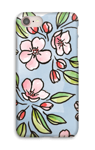Blomster cover IPhone 8