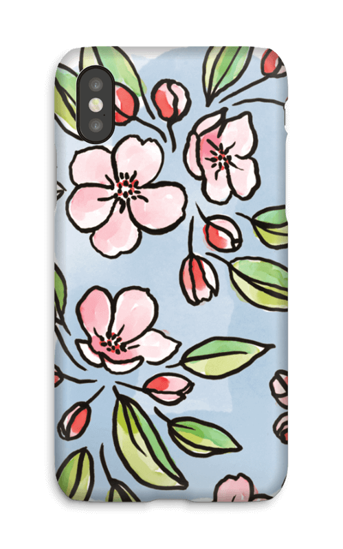 Blomster deksel IPhone X