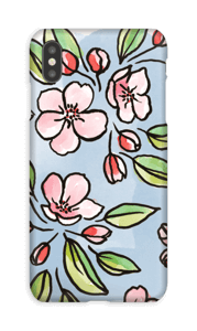 Blomster deksel IPhone XS Max