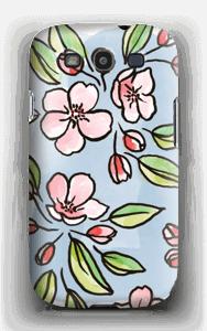 Blomster deksel Galaxy S3