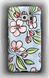 Blomster deksel Galaxy S6 Edge