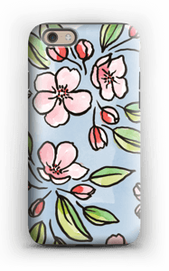 Blomster deksel IPhone 6s tough