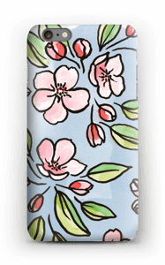 Blomster deksel IPhone 6s Plus