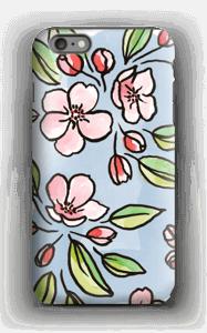 Blomster deksel IPhone 6 Plus tough
