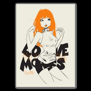 LM ORANGE sticker