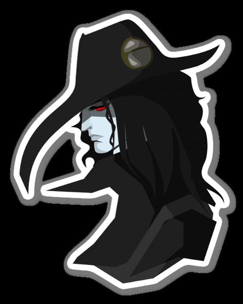 Vampire Hunter D pegatina