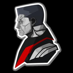 Colossus  sticker