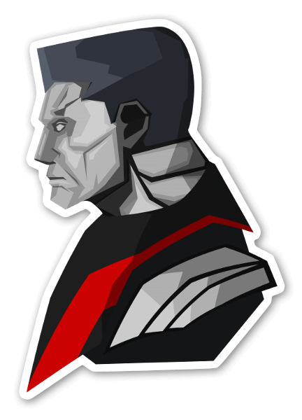 Colossus sticker