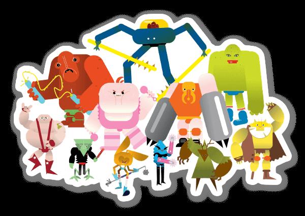 The League - Les combattants de l'espace sticker