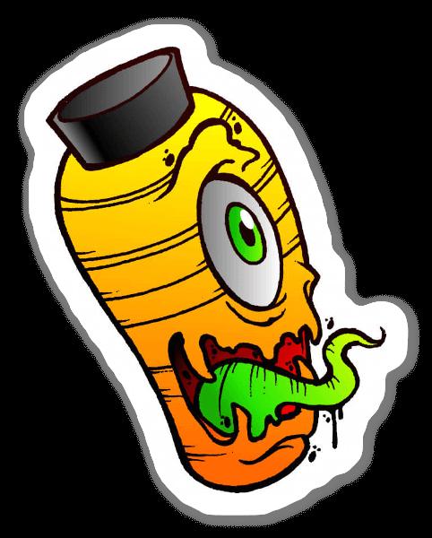 Yokaï Lantern sticker