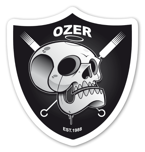 OZER RAIDERS sticker