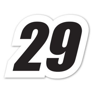 Racing 29 sticker