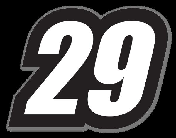 Racing 29 sticker