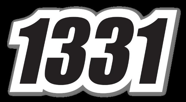 Racing 1331 sticker