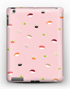 Sushi vaalean pinkki kuoret IPad 4/3/2