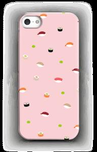 Sushi Lichtroze  hoesje IPhone SE
