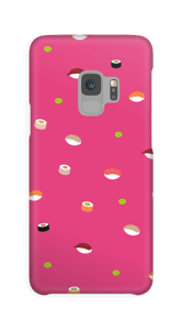 寿司タイム マゼンタ ケース Galaxy S9