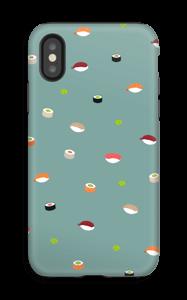 Sushi time + dusty blue
