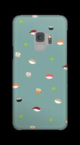 寿司タイム ダスティーブルー ケース Galaxy S9