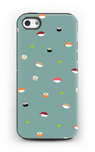 Sushi sininen kuoret IPhone 5/5s tough