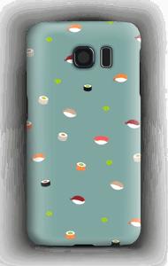 Sushi sininen kuoret Galaxy S6