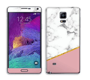 Marbre Or Rose Skin Galaxy Note 4