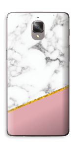 Marbre Or Rose Skin OnePlus 3