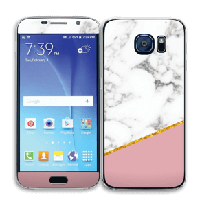 Marbre Or Rose Skin Galaxy S6