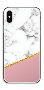 Marbre Or Rose Skin IPhone X