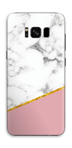 Marbre Or Rose Skin Galaxy S8
