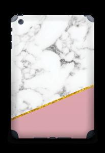 Marbre Or Rose Skin IPad mini 2 back