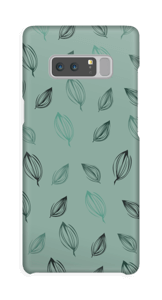 Falling Leaves Green case Galaxy Note8