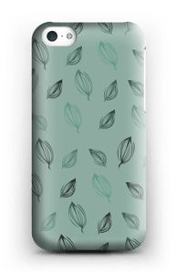 Falling Leaves Green case IPhone 5c