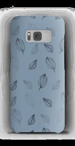 Falling Leaves Blue case Galaxy S8