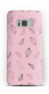 Falling Leaves Pink case Galaxy S8