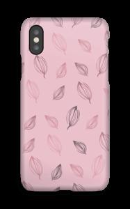 Roze bloemknoppen hoesje IPhone X